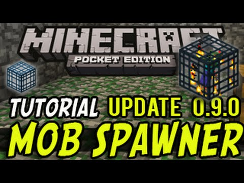 Minecraft Pocket Edition - Mob Spawner Tutorial (MCPE 0.9.0)