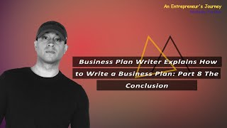Business Plan Writer Explains How to Write a Business Plan: Part 7 Financial Projections