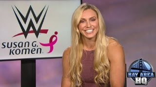 CHARLOTTE FLAIR INTERVIEW on HELL IN A CELL, WWE, PAIGE, GOLDBERG, MICKIE JAMES, SASHA BANKS & MORE