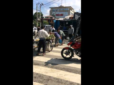 Nepal traffic police kick indian illigale  business