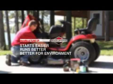 Tune Up Your Briggs & Stratton Riding Mower Engine