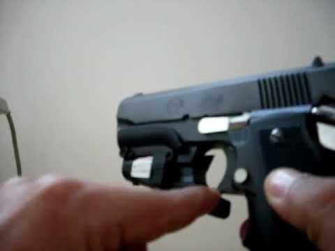 Pistola Imbel com mira laser ( VENDO A MIRA LASER )