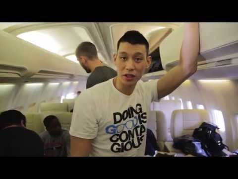 Jeremy Lin - Day in the Life: Road Trip
