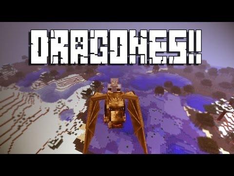 DRAGONES En MINECRAFT - Minecraft Mod
