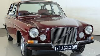Volvo 164 saloon 1970, sunroof, powersteering, in good condition -VIDEO- www.ERclassics.com