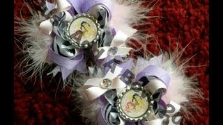HOW TO: Make a Bottle Cap and Place it on a Hair Bow by Just Add A Bow