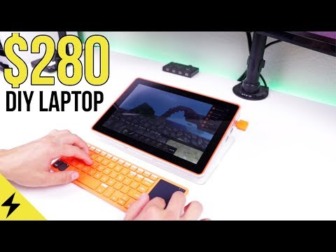 $280 DIY Budget Gaming & Coding Tablet! - Kano Computer Kit Touch Review