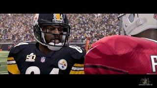 Madden 16 Opening Gameplay - Steelers vs Cardinals Superbowl 50