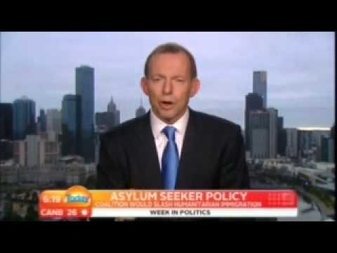 Tony Abbott's On Table/Off Table Asylum Seeker Policy, Illegal Immigrants & Peaceful Invasion