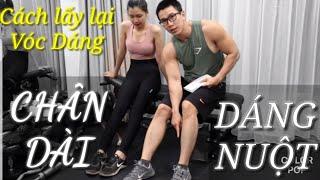 Cách Lấy Lại Vóc Dáng Chân Dài Dáng Nuột Cho Nữ   Ryan Long Fitness