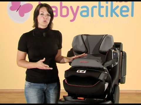 cybex pallas 2 fix kindersitz gr 1 2 3 youtube. Black Bedroom Furniture Sets. Home Design Ideas