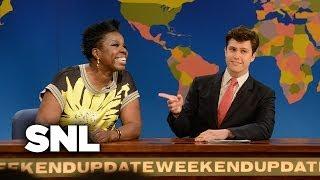 Weekend Update: Leslie Jones - Saturday Night Live