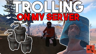 TROLLING PEOPLE ON MY SERVER?! (also sorry :( )