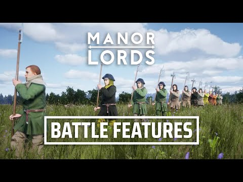 Manor Lords - Battle Features | Medieval RTS/Citybuilder