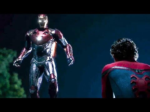 Spiderman Meeting With Tony Stark | Spider Man Homecoming Funny Scene in hindi thumbnail