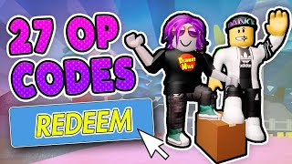 27 NEW CODES UNBOXING SIMULATOR - Roblox Unboxing Sim Codes