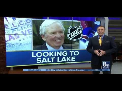 Las Vegas NHL Owner Looks to SLC