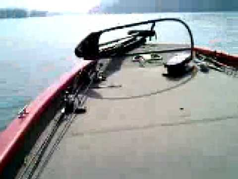 Candlewood Lake bass fishing. Bass boat. Bass Tracker. Pro Team 175 TXW. 75 hp 4 stroke Mercury