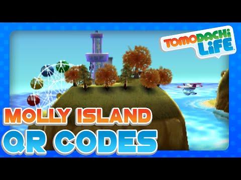 Tomodachi Life: All Molly Islanders QR Codes!