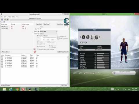 Increase Player Stat Fifa 14 (upto 95)