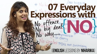 download lagu 07 Everyday Expressions  'no' - Improve Your English gratis