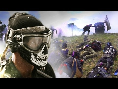 Largest Paintball Battle - Living Legends 6 x HK Army