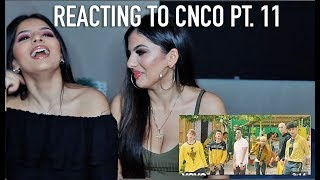 My Twin Sister Reacts To Cnco Pt 11 Llegaste Tú Mv