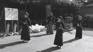 2016年11月12日 笠間稲荷神社奉納演武