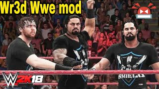 Wr3d WWE 2k18 mod download with full review | wr3d mods