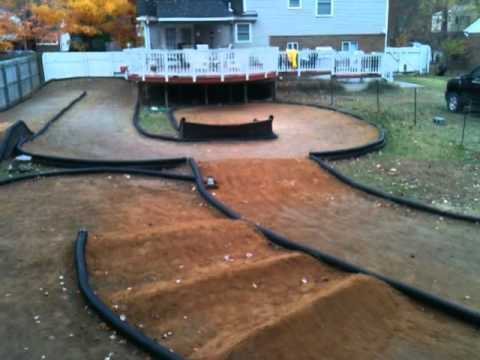 backyard rc track youtube
