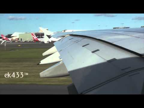 Qantas Airways | Airbus A380-800 | Sydney Kingsford Smith International Departure