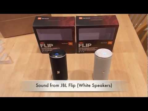 JBL Flip Black v White - Bluetooth problems demo/review by KemptonTestLab