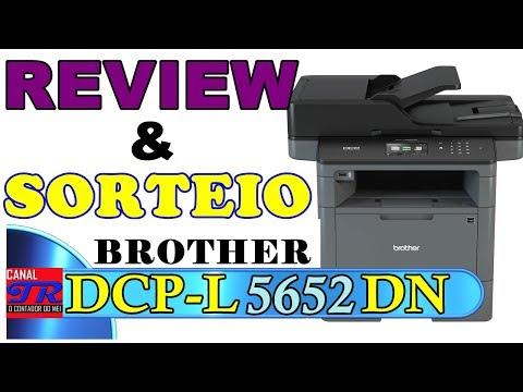 Review da Impressora Brother DCP-L5652DN - Ótimo Investimento Para Empresa, Casa ou Escritório