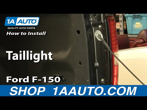 How To Install Replace Taillight Ford F-150 04-08 1AAuto.com