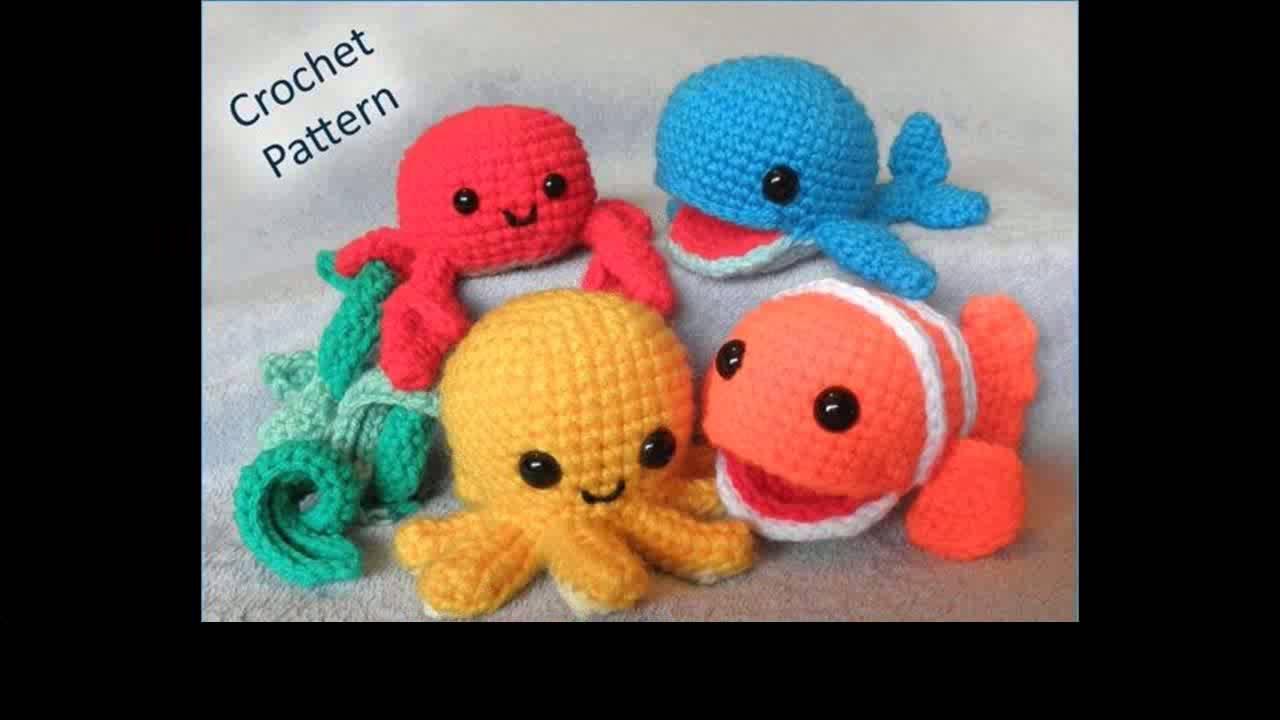 Crochet Animals Beginner Youtube