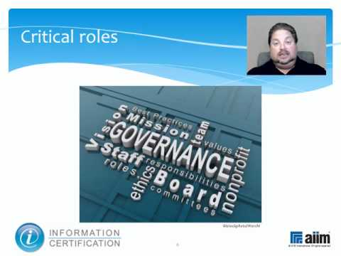Governance by Roles & Responsibilities