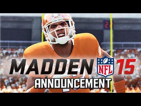 Madden 15 Series Announcement! - Sammy Hollins is BACK!