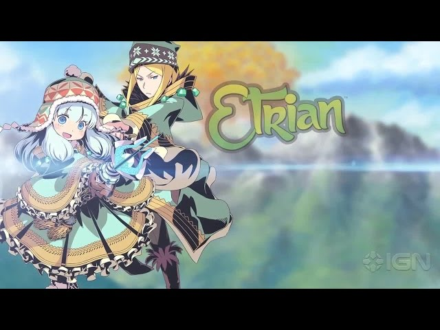 Etrian Mystery Dungeon - Runemaster Trailer