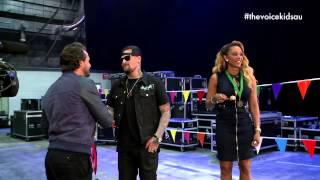 Backstage Olympics: Egg and Spoon Race | The Voice Kids Australia 2014