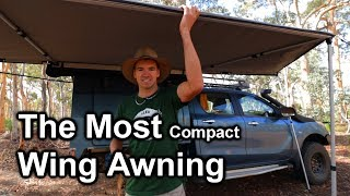 Most Compact 4wd Wing Awning - Supa Peg