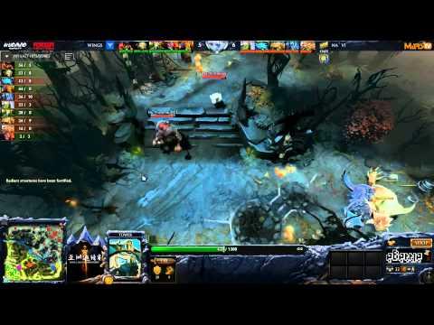 [TECHIES!?!?] Na'Vi vs Wings - (Dota 2 Asia Championships) - GoDz & WinteR