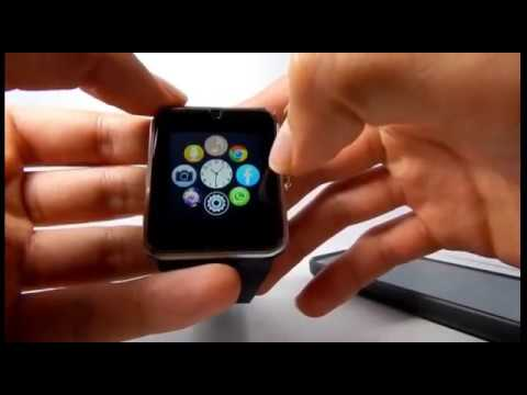 Review Smartwatch GT08 Completa online video cutter com 1