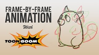 Frame-By-Frame Animation with Toon Boom