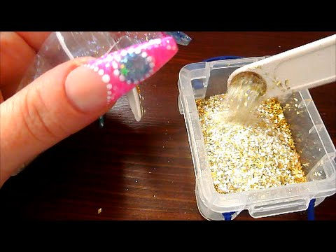 LETS MAKE SOME GLITTER MIXES! | ABSOLUTE NAILS