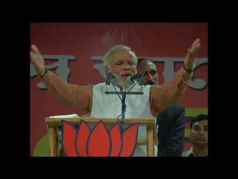 Shri Narendra Modi addresses huge BJP Rally in Agartala Tripura HD