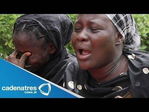 Familiares de las niñas secuestradas en Nigeria las identificaron en un video