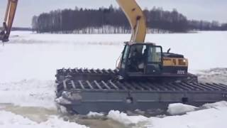 [River Tank Icebreaker Amphibex] Video