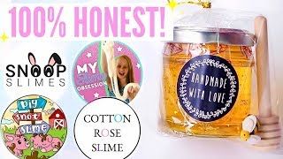 100% HONEST Famous + Underrated Instagram Slime Shop Review! SnoopSlimes + US/UK Package Unboxing