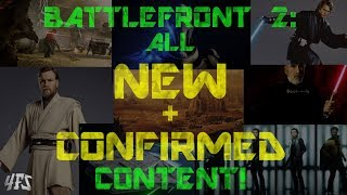 All NEW Star Wars Battlefront 2 Content (June 2018)