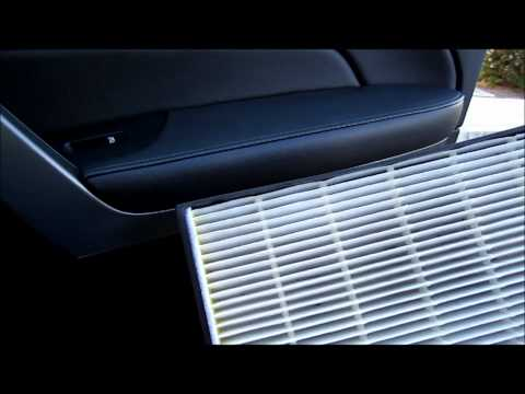 Replacing Acura Mdx Cabin Air Pollen Filter Version One